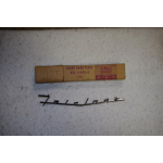 1957 Ford Fairlane Front Script NOS