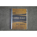 1958 Ford Shop Manual