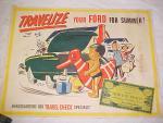 1949, 1950, 1951 Ford Dealer Poster